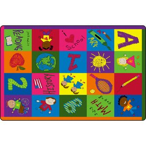 Primary Pictures Kids Rug