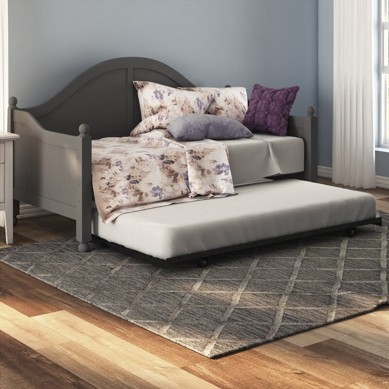 Argon Daybed With Trundle Amp Reviews Birch Lane
