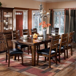 Spencerville 9 Piece Dining Set by Three Posts