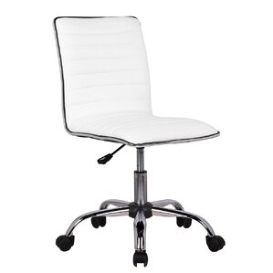 leather office chair modern. Fabricio Adjustable Modern Swivel Ergonomic Desk Chair Leather Office