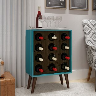 Kory 8 Bottle Floor Wine Bottle Rack