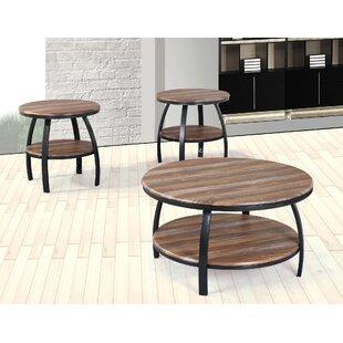 Mccormick 3 Piece Coffee Table Set