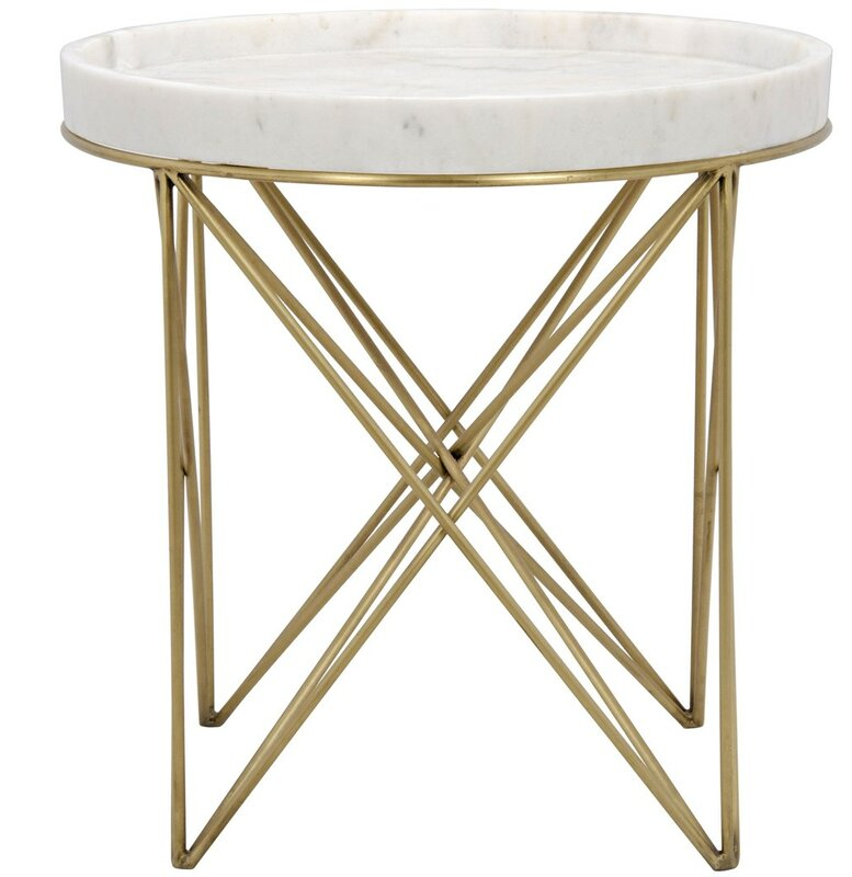 Prisma Metal End Table