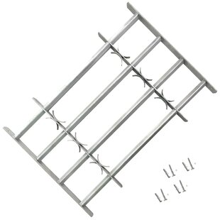 Fishback Adjustable Security Grille for Windows by Lynton Garden