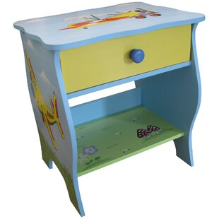 Transport 1 Drawer Bedside Table by Liberty House Toys