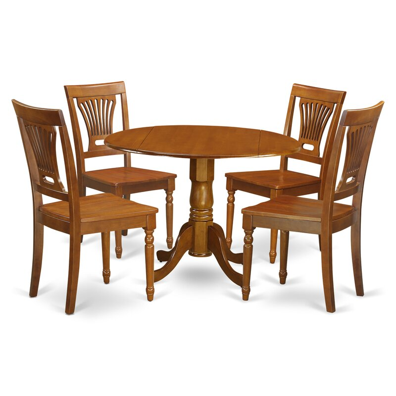 Wooden Importers Dublin 5 Piece Dining Set