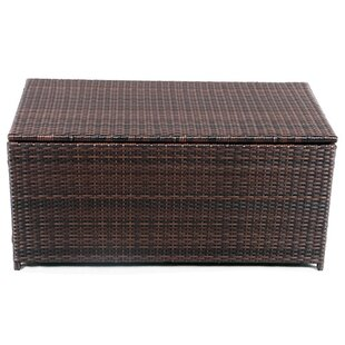 Delicieux Modern Home Wicker Cove Weatherproof Outdoor Rattan Storage Box