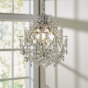 Clea 3-Light Crystal Chandelier