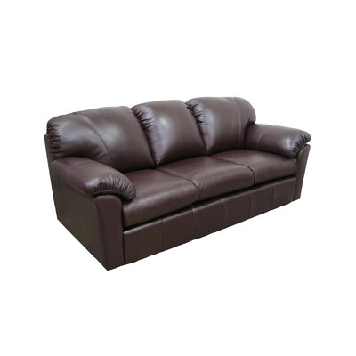 Cool Omnia Leather Oregon Leather Sofa Wayfair Machost Co Dining Chair Design Ideas Machostcouk