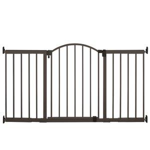 72″ Wide Extra Tall Walk-Thru Metal Expansion Gate