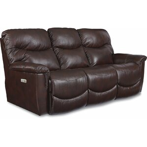 James LA-Z-TIME? POWER-RECLINE Sofa wi..
