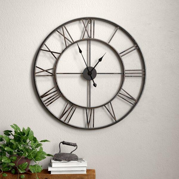 Frying Pan Kitchen Metal Wall Clock Novelty Home Decor Design 3 Sizes Home & Garden Home Décor