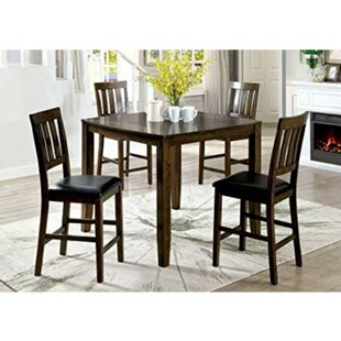 Pisano 5 Piece Pub Table Set