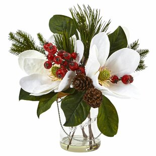Christmas silk artificial flowers youll love wayfair quickview mightylinksfo