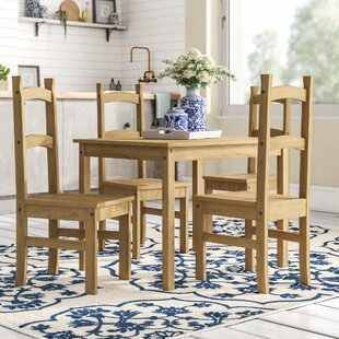 Vida Corona Dining Set With 4 Chairs