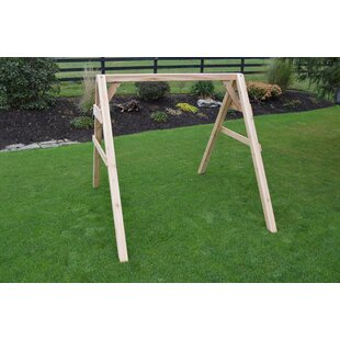League A Frame Porch Swing Stand