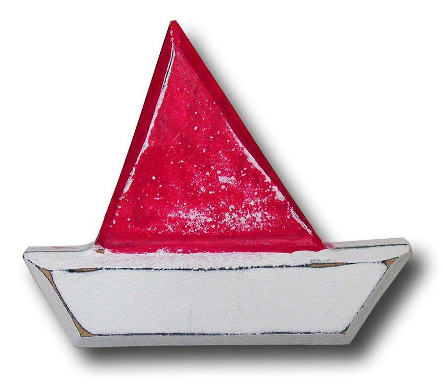 Handpainted Boat Novelty Knob