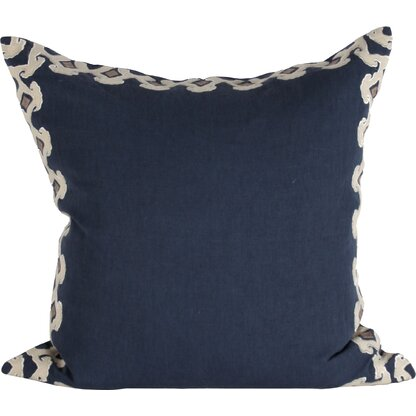 Luxury Square Cool-Hued Accent Pillows | Perigold