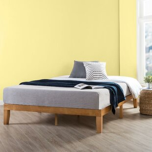Modern Wood Bed Frame Wayfair