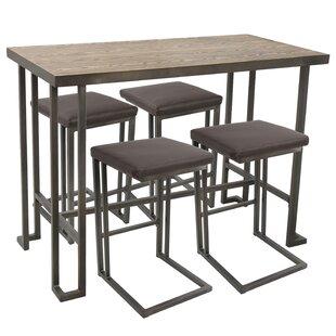 Calistoga 5 Piece Counter Height Dining Set