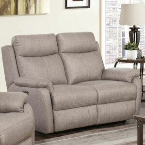 Dwight Reclining Loveseat by Red Barrel Studio