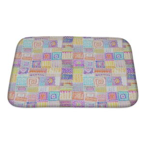 Primo Colorful Ethnic Bath Rug