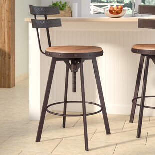 Merveilleux Henley Adjustable Swivel Bar Stool
