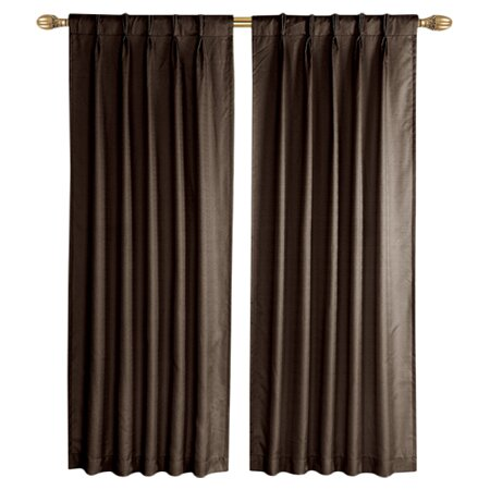 Three Posts Sheldon Solid Pinch Pleat Single Curtain Panel