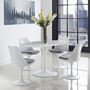 Oval Shaped Dining Table