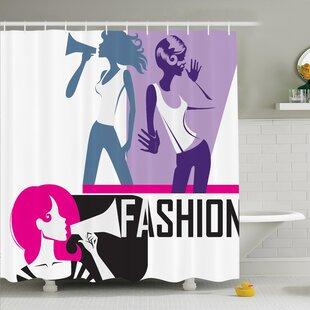 Elegant Fashion Shower Curtain Set