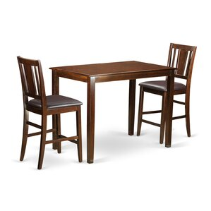 Yarmouth 3 Piece Counter Height Pub Table..