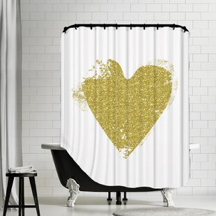 Valentines Day Shower Curtains Youll Love