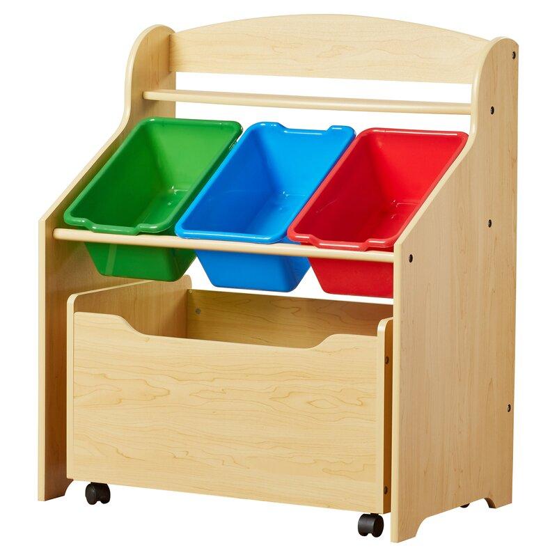 Childrens Kids 3 Tier Toy Bedroom Storage Shelf Unit 8: Tot Tutors Multi Storage Unit & Reviews