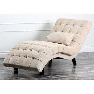 Bon Ethelinda Fabric Chaise Lounge