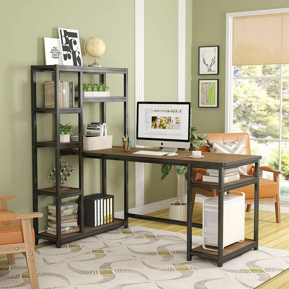Peachy Headen Reversible Desk With Hutch Home Interior And Landscaping Ponolsignezvosmurscom