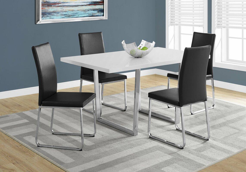 Latitude Run Dacian Metal Dining Table & Reviews | Wayfair