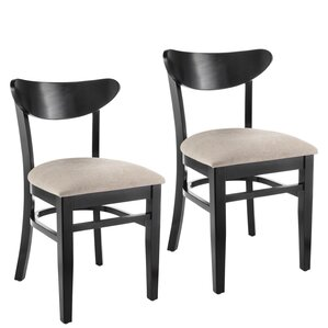 Fayette Oval Back Solid Wood Dining Chair (Set of 2) by Red Barrel Studio