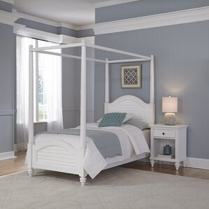 Harrison Canopy 2 Piece Bedroom Set by Beachcrest Home