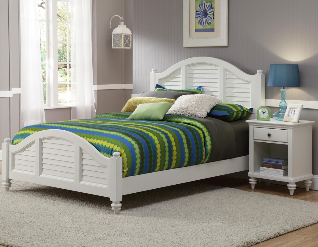 Harrison Traditional Panel 2 Piece Bedroom Set