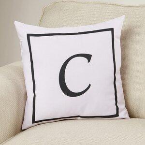 Cartier Box Monogram Throw Pillow