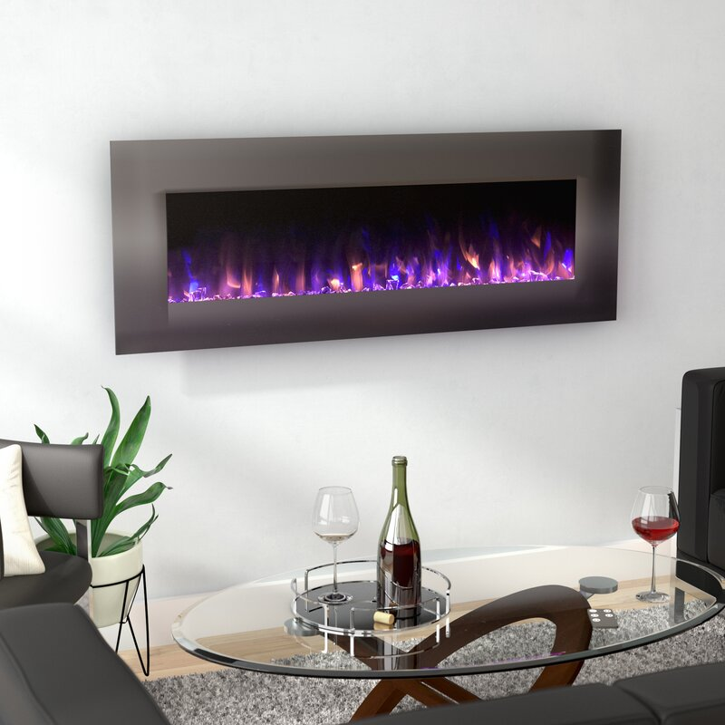 the electric products mounted recessed mount forte fireplace fireplaces wall touchstone