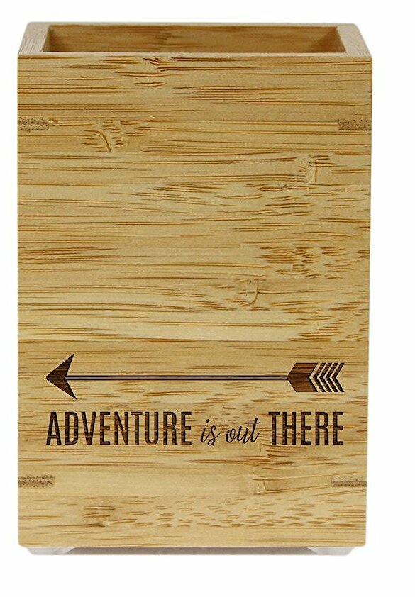 koyal wholesale adventure is out there bamboo wooden pen holder rh wayfair com