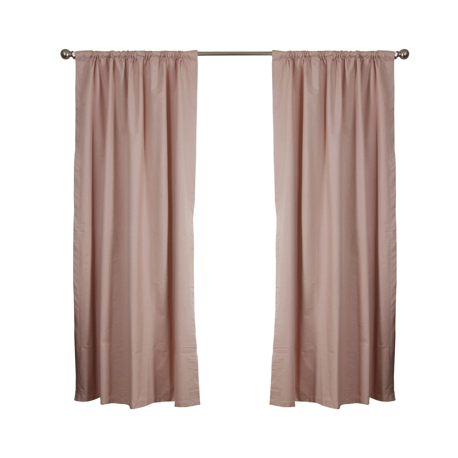 Roc Lon Woodstock Thermal Blackout Single Curtain Panel Reviews Wayfair