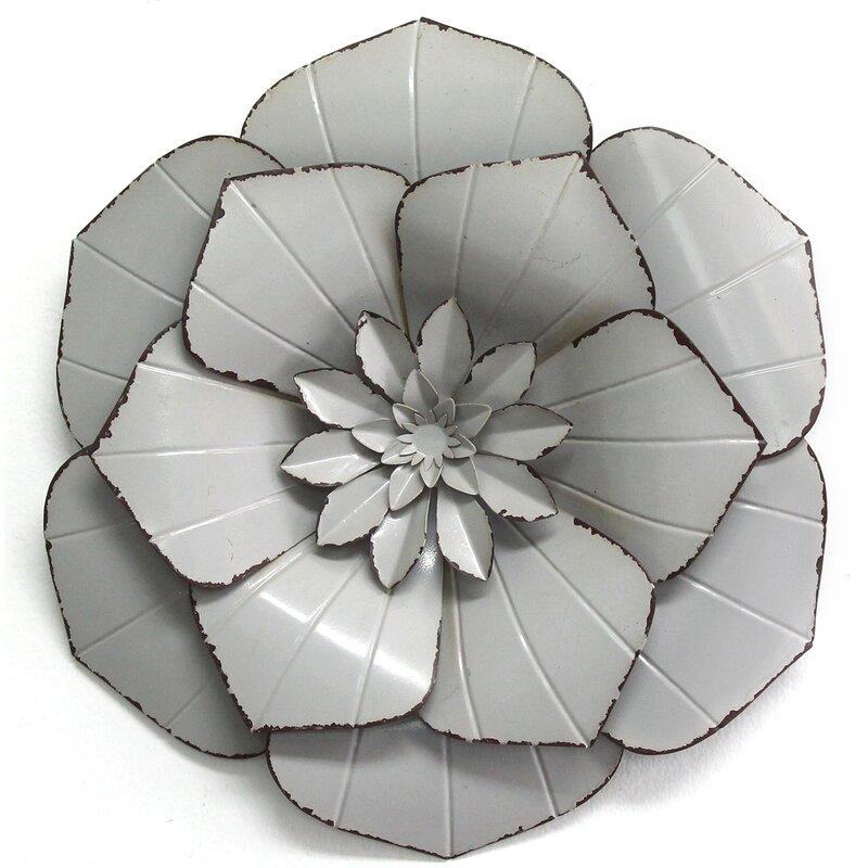 Metal Flower Wall Decor | Joss & Main