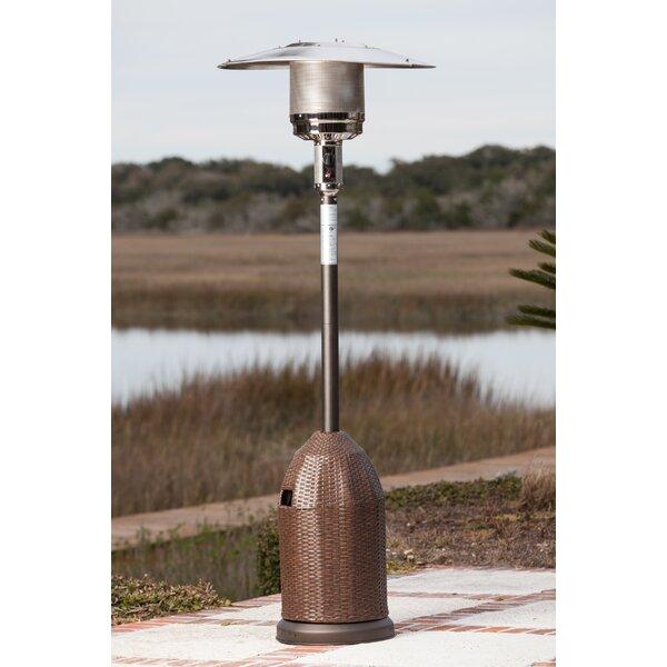 Perfect Fire Sense All Weather 46,000 BTU Propane Patio Heater U0026 Reviews | Wayfair
