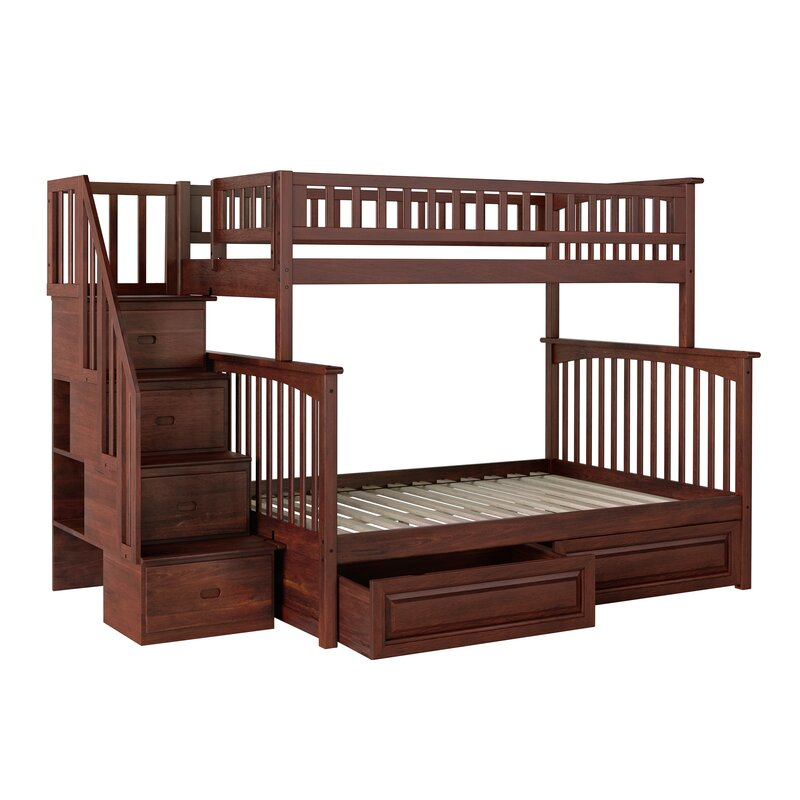 Henry Bunk Bed With Storage Reviews Allmodern
