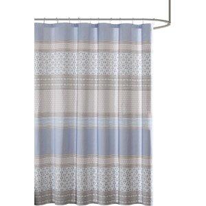 Karaman Cotton Printed Shower Curtain