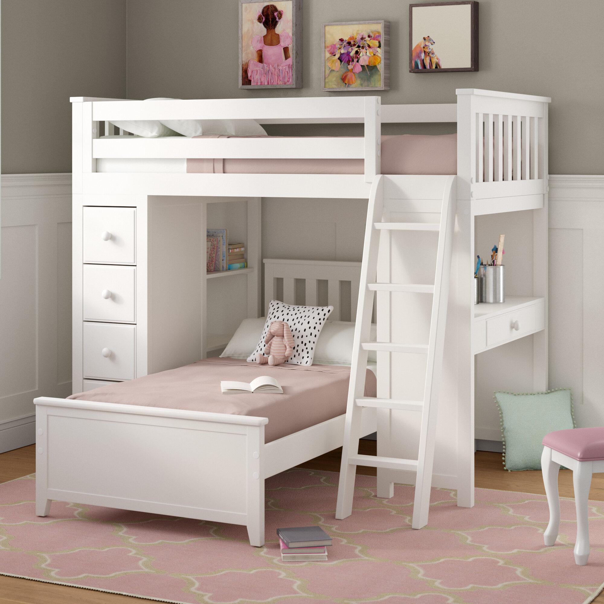 Charmant Bunk Bed Desk Dresser Combo | Wayfair