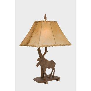 Moose Floor Lamp Moose lamps wayfair moose shasta 22 table lamp audiocablefo
