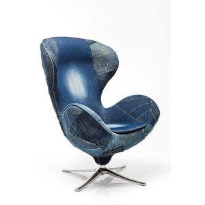 Ohrensessell Lounge Jeans von KARE Design